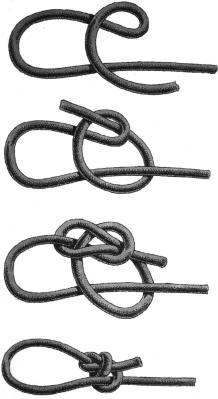 - GoTech - >>> Knoten- gekreuzter Laufknoten